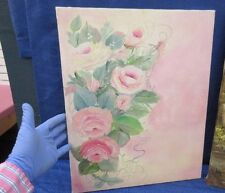 Antiquitäten & Kunst PAINTING MORTELMANS PINK ROSES IN A BASKET ART PRINT PICTURE POSTER HP2865
