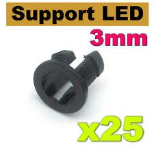 959/25# Support LED 3mm modèle 1 --- 25pcs