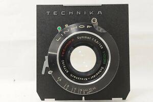 EXC+3 LINHOF Technika Symmar 150mm f/5.6 265mm f/12 from JAPAN by DHL #1684