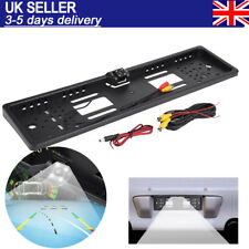 170° Universal Car Rear View Camera Auto Parking with Number Plate Frame Black