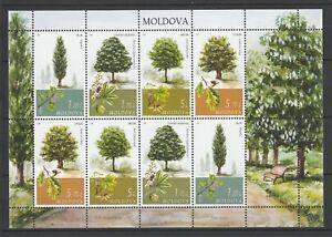 Moldova 2018 Nature, Plants, Trees MNH sheet