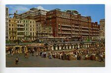 England, Brighton, Paddling Pool, people, weird smile figurine, retro clothing