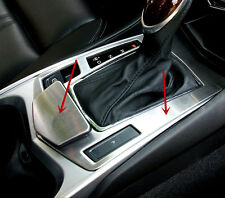 For Cadillac SRX 2010-2015 2pcs Stainless Gear position Frame Decorative Trim