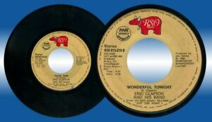 Philippines ERIC CLAPTON & HIS BAND Tulsa Time 45rpm Record