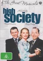 High Society NEW DVD (Region 4 Australia) Grace Kelly Bing Crosby Frank Sinatra
