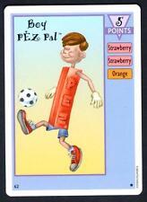Vintage Pez Card Game #62 Boy Pez Pal - Mint/Near Mint Candy Dispenser