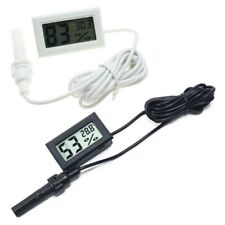 Digital Thermometer Hygrometer Freezers Cabinets Automobiles High Precision