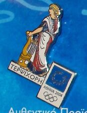 ATHENS 2004. OLYMPIC GAMES.  OLYMPIC PIN. MUSE TERPSICHORE