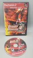 Dynasty Warriors 4 Sony PlayStation 2 PS2 Video Game No Manual