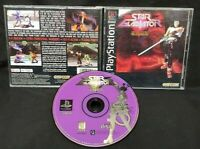 Star Gladiator Episode I Final Crusade  Playstation 1 2 PS1 PS2 Game Rare Tested