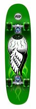 Flip 8in x 32.35in Eyeball Cruzer Green Cruiser Skateboard