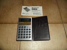 Calculatrice Calculator SANYO CX 1213 légère erreur sammlerstueck