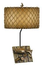 Cal Lighting BO-2664TB 150W FISHING RESIN TABLE LAMP
