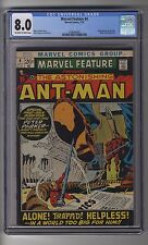 Marvel Feature (1971) # 4 - CGC 8.0 OW/white Pages - Ant-Man and Spider-Man App
