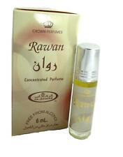 100% Authentic Al Rehab Rawan 6ml Halal Perfume Attar Roll-on Jasmine Sandalwood