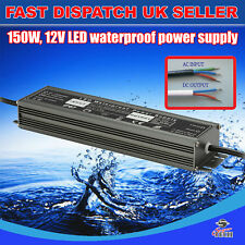 150W DC12v Waterproof Transformer Power Supply Adapter LED LightsUK Stocks 12.5A