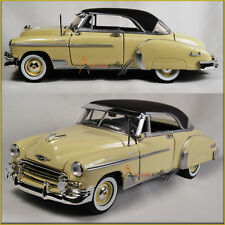 Showcasts 1950 Chevy Bel Air HARD TOP 1/24 Scale Diecast CREAM -YELLOW TAN UB