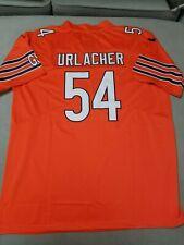 Chicago Bears #54 Brian Urlacher Alternate Orange Jersey Men's Size Medium