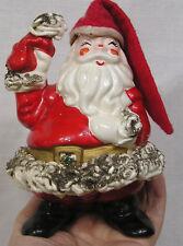 Vintage Christmas Spaghetti Art Santa Claus Figurine Japan 1960s