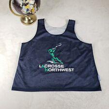 Northwest Lacrosse Team Jersey REVERSIBLE Mesh Portland Souvenir Sports Sz XL