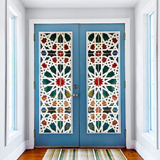 PORTA MURALE 12 puntata Star Home Decoration Autoadesivo Adesivi 88cm x 200cm