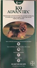 K9 Advantix 10 Pounds Flea Medicine for Small Size Dogs 6 Month Supply K-9