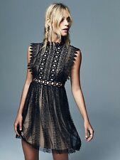 FREE PEOPLE Lemons Lace Dress Love Crochet & Babydoll Gothic And Victorian For S