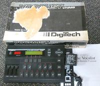 Digitech VHM5 Vocalist Harmonizer Vocal VHM-5 harmony effects processor
