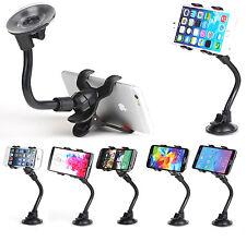 Universal Adjustable Angle Grip Gooseneck Phone Holder For iPhone 5 6 7 8 Plus