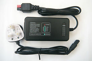 Battery Charger For Motocaddy - 12v / Pulse Control / Lead/Acid - 2Yr Warranty.