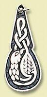 Keltischer Cliodna Vogel Anhänger 925er Silber Symbol Schmuck - NEU