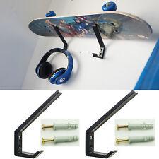 1Pairs Plastic Wall Mount Rack Black/Snowboard/Skateboard/Ski Wall Mount Rack