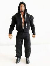 """NOX-ST-L+PT: FIGLot Hoodie & Stripe Pants for 7"""" Mattel Elite Wrestling Figures"""