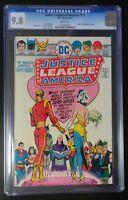 Justice League #121 DC Comics 1975 CGC 9.8 White Pages Strange Marries Alanna