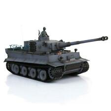 US Stock HengLong 6.0 Plastic Ver RTR RC Tank 3818 German Tiger I 1/16 Gray