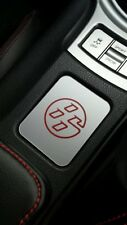 Toyota GT86 None heated seat, silver trim, Red 86 logo emblem centre console