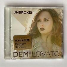 Demi Lovato Unbroken CD BRAND NEW Sealed Stickers