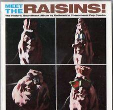 RAISINS - Meet The Raisins! - 1988 Atlantic CD - Near Mint