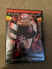 Charlie and the Chocolate Factory Two-Disc Deluxe Edition Dvd New