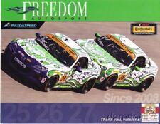 2014 Freedom Autosport Mazda MX-5 Miata ST IMSA CTSC postcard