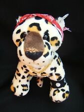 "Ganz Webkinz Plush Leopard Pet Rockerz ROCK ON LEOPARD 9"" x 9"""