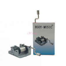 Hand Cranked DIY Music Box Mechanism 18 Note Movement Play You Are My Sunshine