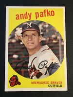 F64204  1959 Topps #27 Andy Pafko BRAVES