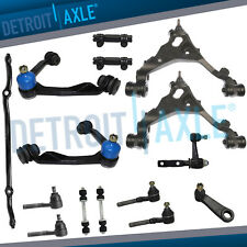 Ford F-150 Expedition Navigator 4WD Front Upper Lower Control Arm Tierod Pitman