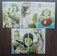 Harvest (2012) #1-5 NM Complete Series Set Image Saga Lot Cowboy Ninja Viking