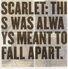 Scarlet - This Was Always Meant to Fall Apart [New CD] Asia - Import