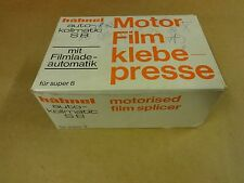 FILM SPLICER HÄHNEL AUTO-KOLLMATIC S8 FOR SUPER 8 / MOTOR-FILM-KLEBEPRESSE