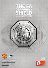 Manchester United v Wigan Athletic 2013/14 (11 Aug) FA Community Shield