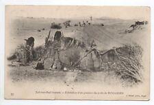 ALGERIE Algerie française Sud - Oranais habitation d'un goumier poste Beni abbes