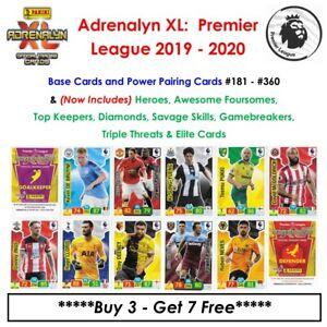 Adrenalyn XL - Premier League 2019 - 20: Base Cards & Special Cards #181 - #360
